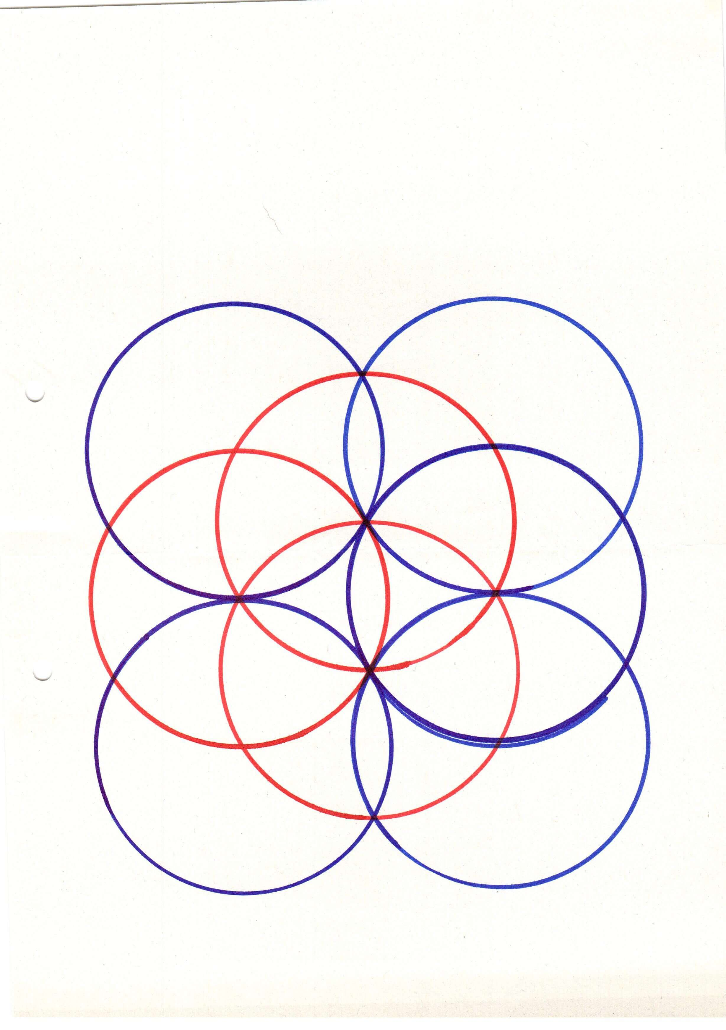flower of life drawings